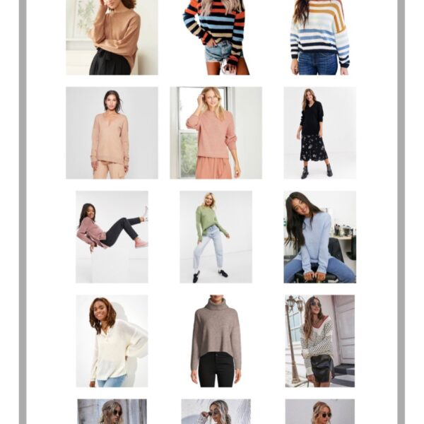 Fall Sweaters at Every Price Point