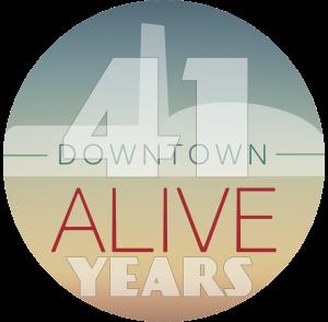 41 Downtown Alive Branding_badge