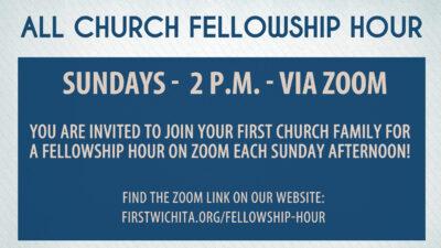 Church-wide Fellowship Hour