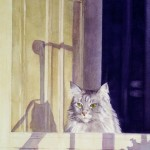 5 O'Clock Shadow Watercolor