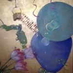 Bubbles Oil & Acrylic