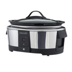 Crock-Pot WeMo wi-fi controlled Smart Slow Cooker enabled,SCCPWM600-V1