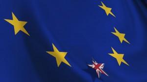 EU-UK flags