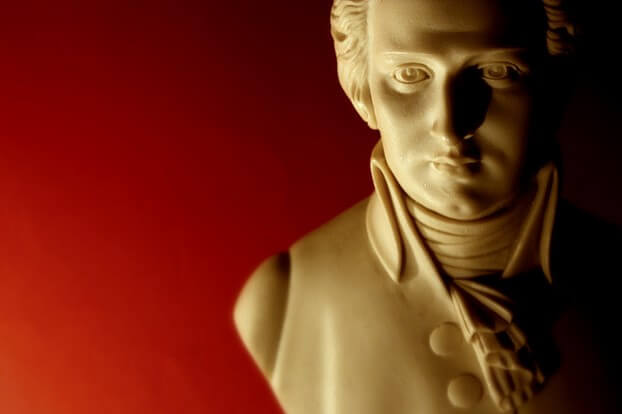 Mozart's skill was aligned with his underlying talent