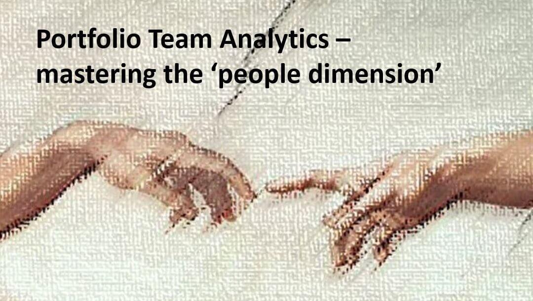 De-risking PE with Portfolio Team Analytics.