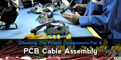 PCB cable assembly