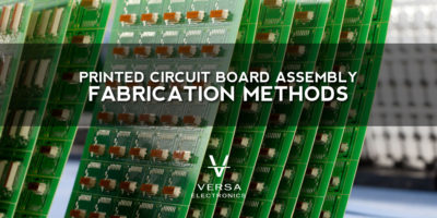 pcb assembly fabrication methods