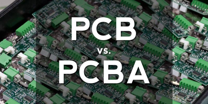 pcba vs pcb