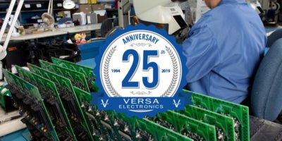 Electronic Contract Manufacturer - Versa Electronics 25 Years