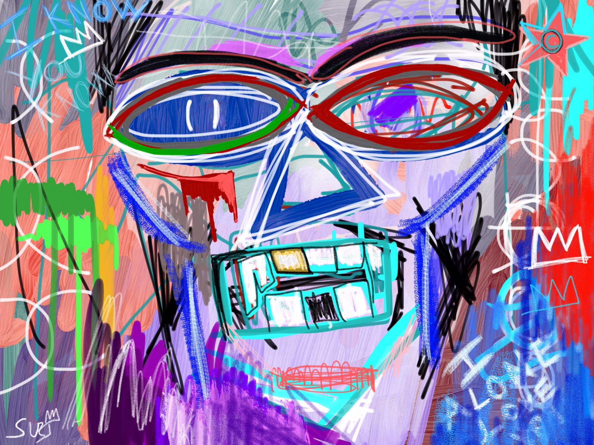 I Alone abstract art
