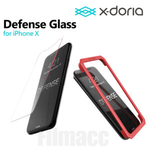 X-doria Defense Glass Tempered Screen Protector 0.33mm iPhone X