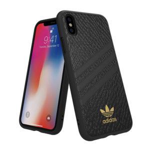 Adidas Original Snakeskin Black Molded case [iPhone]