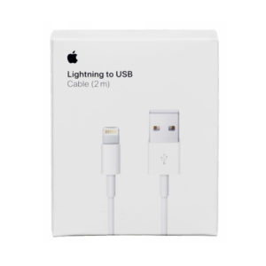 Apple Original Lightning to USB Charger Cable 2m