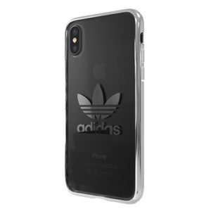 Adidas Original Electroplate Soft Case White iPhone XS / X