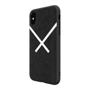 Adidas Original Suede Hard Case Black iPhone XS / X