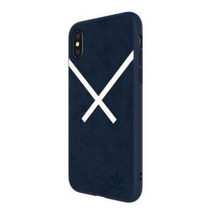 Adidas Original Suede Hard Case Blue iPhone XS / X