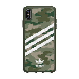 Adidas Original 3 Strips Green Camouflage Hard Case [iPhone X Series]