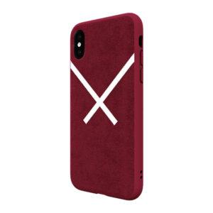 Adidas Original Suede Hard Case Red iPhone XS / X