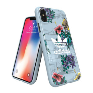 Adidas Original Island Time Floral Blue Hard Case [iPhone]