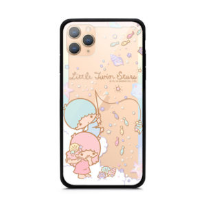 Sanrio Little Twin Stars Authentic Tempered Glass Case [iPhone 11 Series]