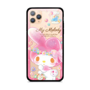 Sanrio My Melody Authentic Tempered Glass Case [iPhone 11 Series]