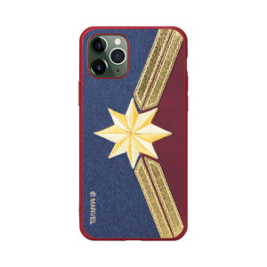 MARVEL Avengers Embroidery Case Captain Marvel [iPhone]