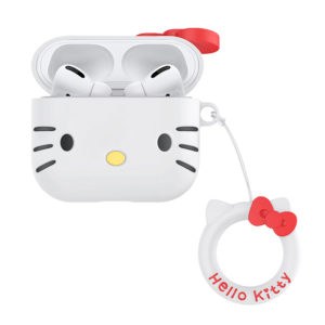 Sanrio Authentic Hello Kitty Silicon White Shape Case [AirPods Pro]