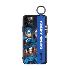 MARVEL Authentic Captain America Wristband Case [iPhone 11 Series]