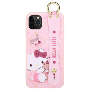 Sanrio Authentic Hello Kitty Wristband Case [iPhone 11 Series]