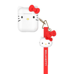 Sanrio Authentic Hello Kitty Silicon White Case [AirPods Series 1 / 2]