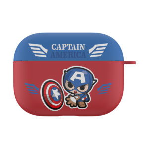 MARVEL Authentic Captain America Hard Case [AirPods Pro]