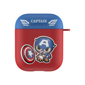 MARVEL Authentic Captain America Hard Case [AirPods Series 1 / 2]
