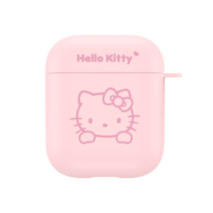 Sanrio Authentic Hello Kitty Pink Hard Case [AirPods Series 1 / 2]