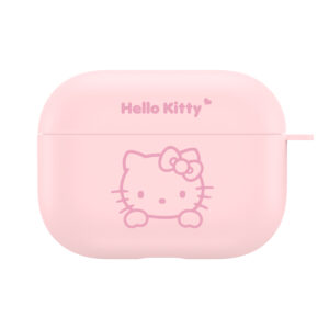 Sanrio Authentic Hello Kitty Pink Hard Case [AirPods Pro]