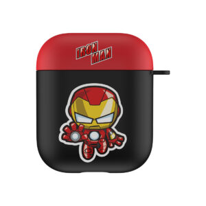 MARVEL Authentic Iron Man Hard Case [AirPods Series 1 / 2]
