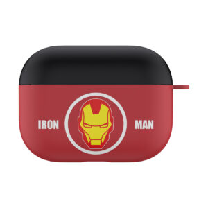 MARVEL Authentic Iron Man Head Hard Case [AirPods Pro]