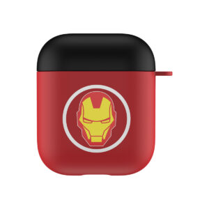 MARVEL Authentic Iron Man Head Hard Case [AirPods Series 1 / 2]