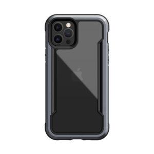 X-doria Defense Shield Black Hard Case [iPhone 12 Series]