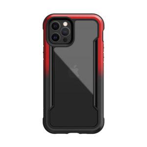 X-doria Defense Shield Black Red Hard Case [iPhone 12 Series]