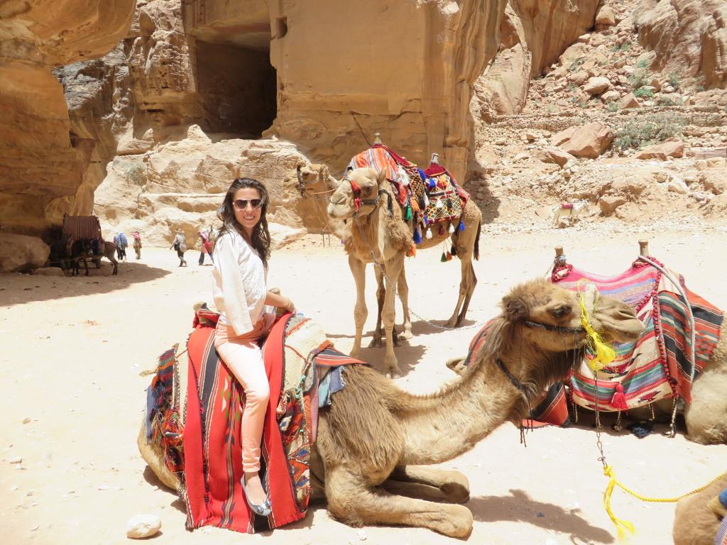 Camel Ride, Petra - Jordan