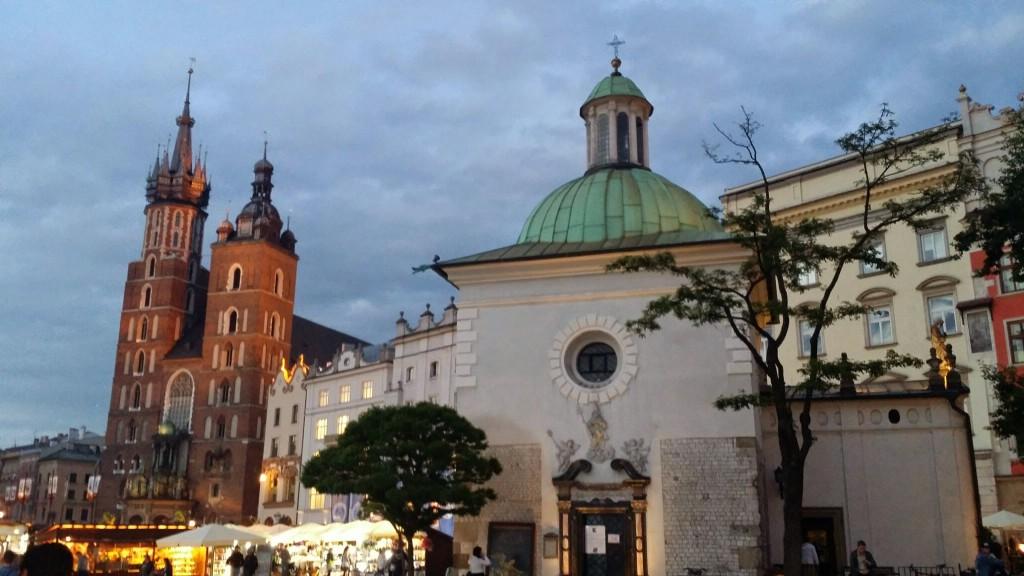 Krakow at night 2