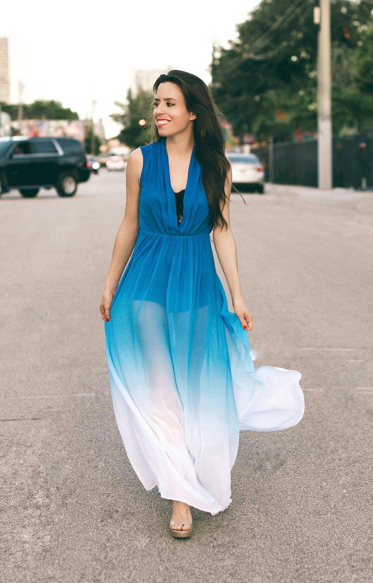 ombre-long-dress