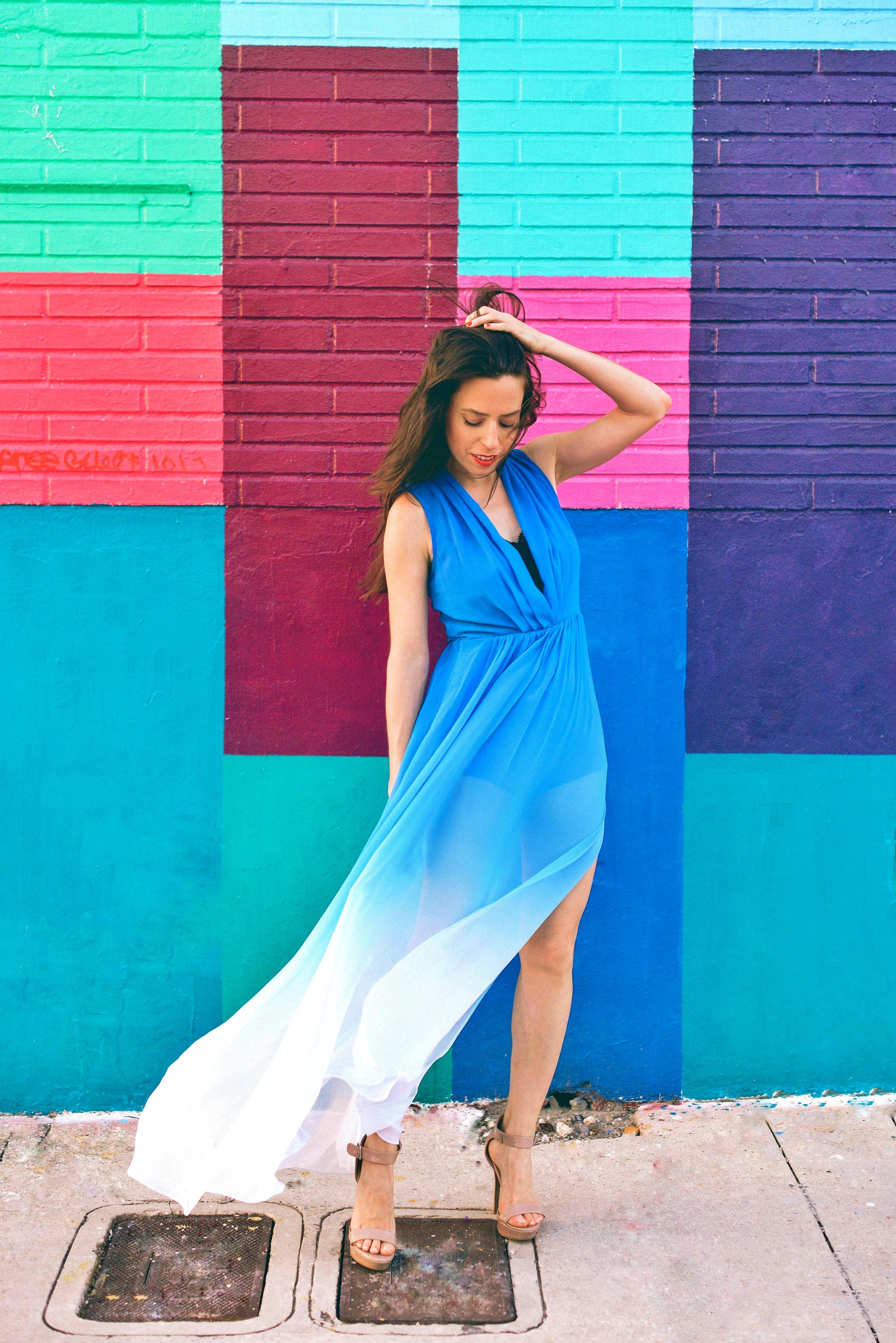 ombre-dress