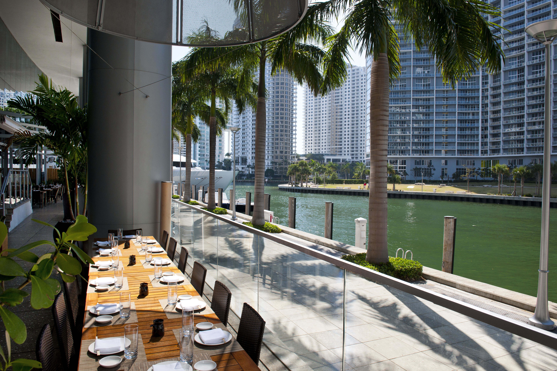 Zuma Miami terrace