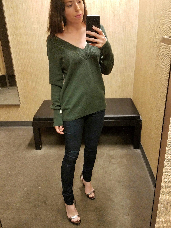 nordstrom cashmere pullover