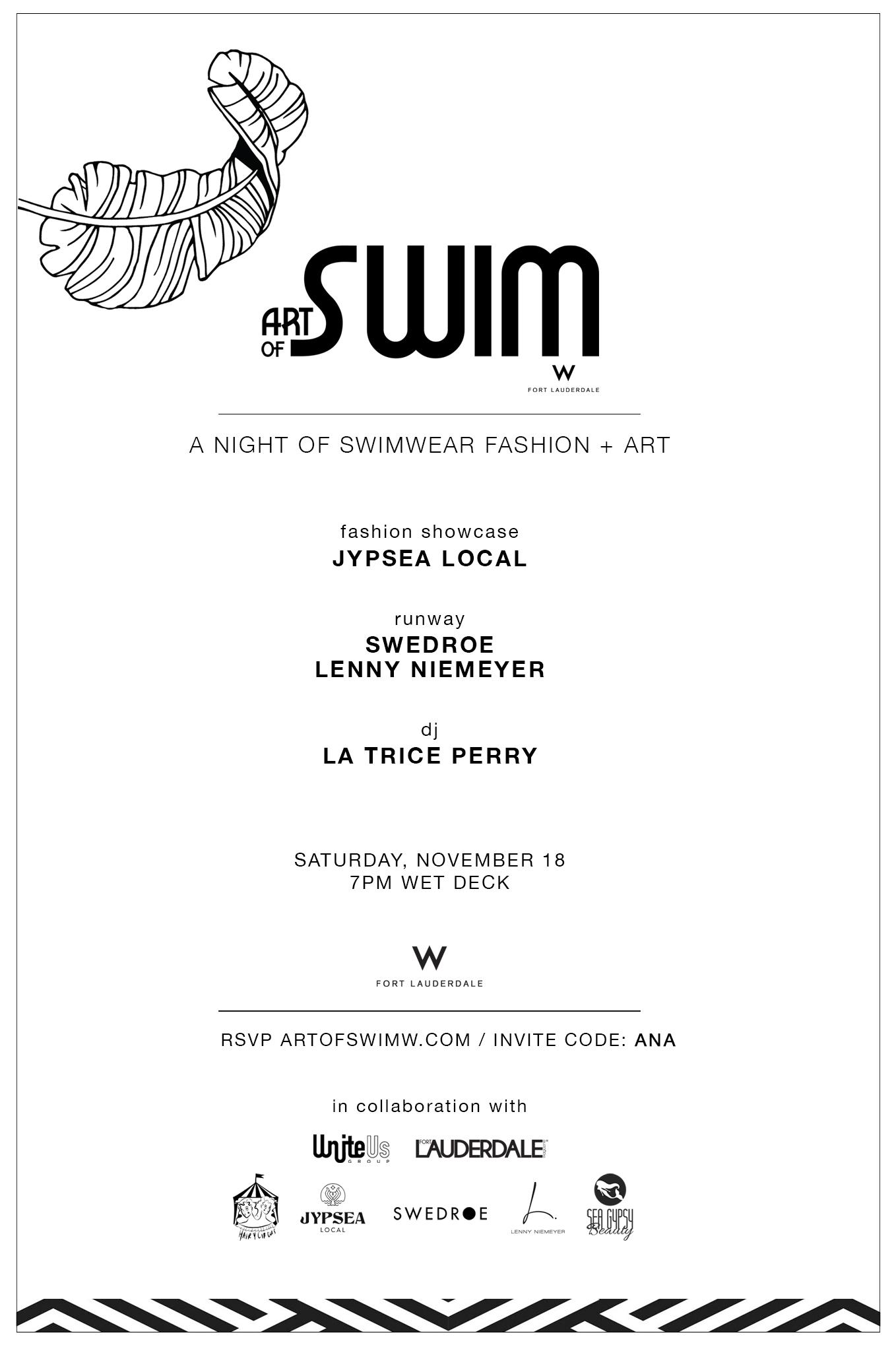 Art Of Swim W Hotel Fort Lauderdale ana florentina
