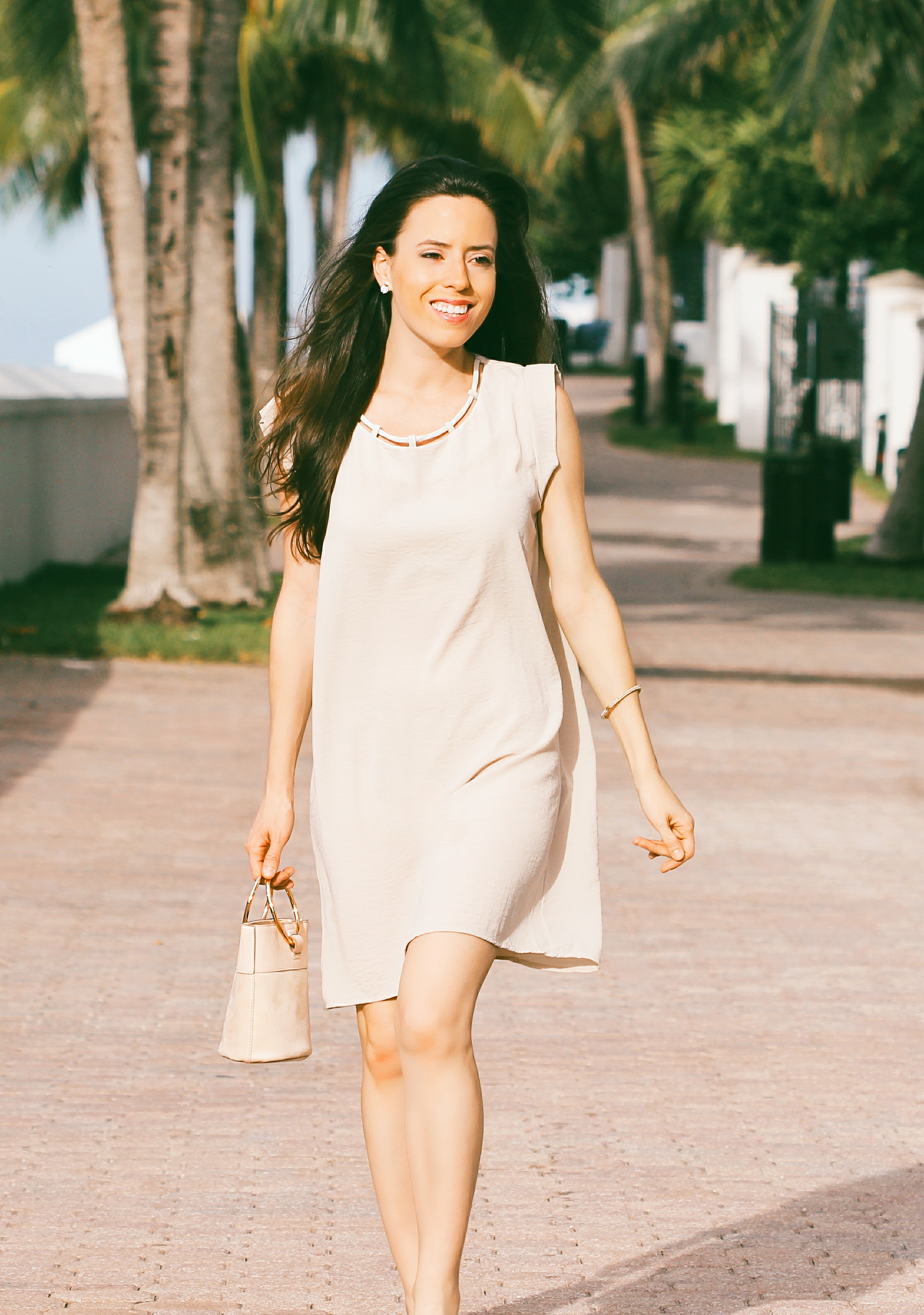 how to style a midi dress