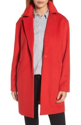 red coat wool blend