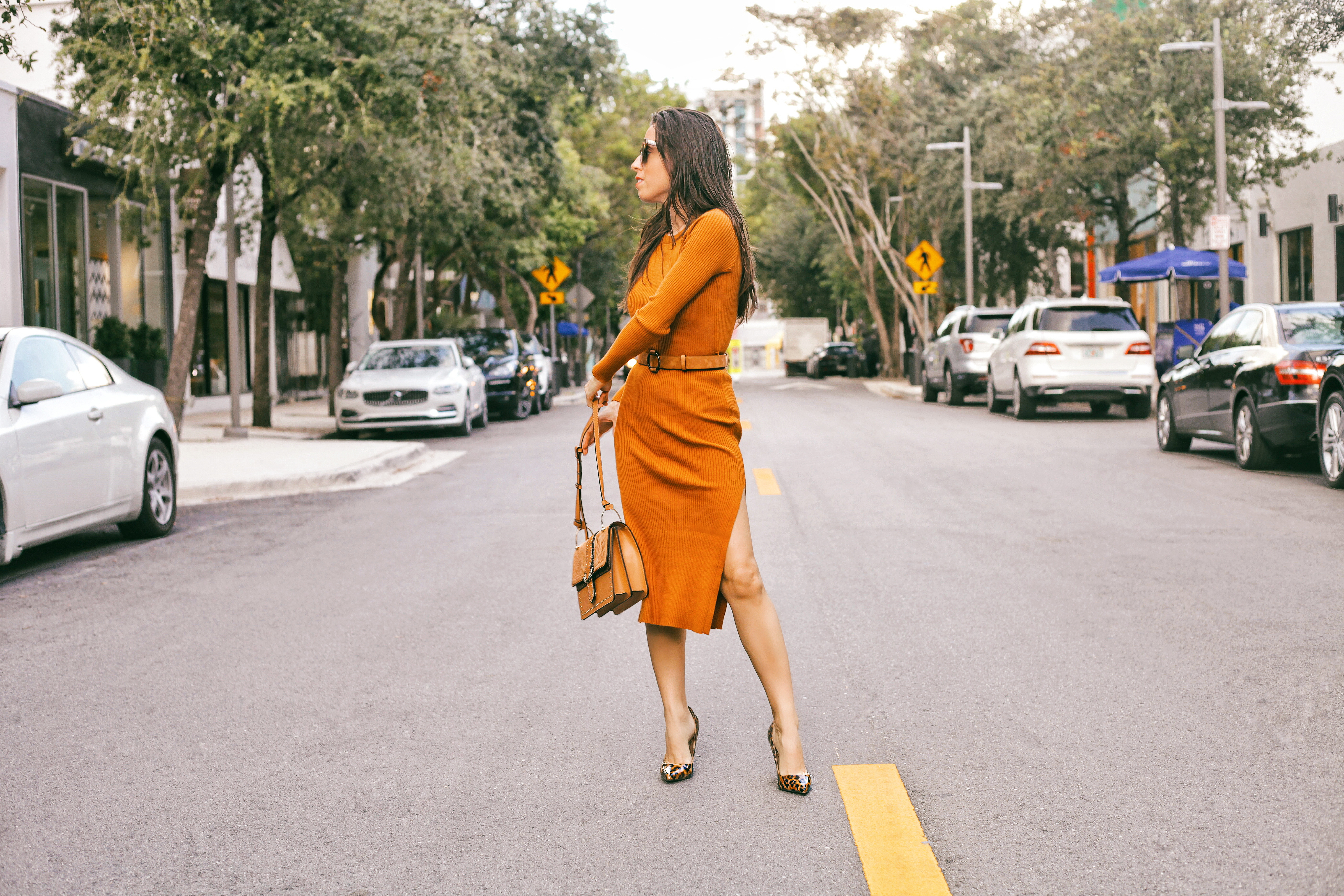 ribbed knit dress amber knit dress