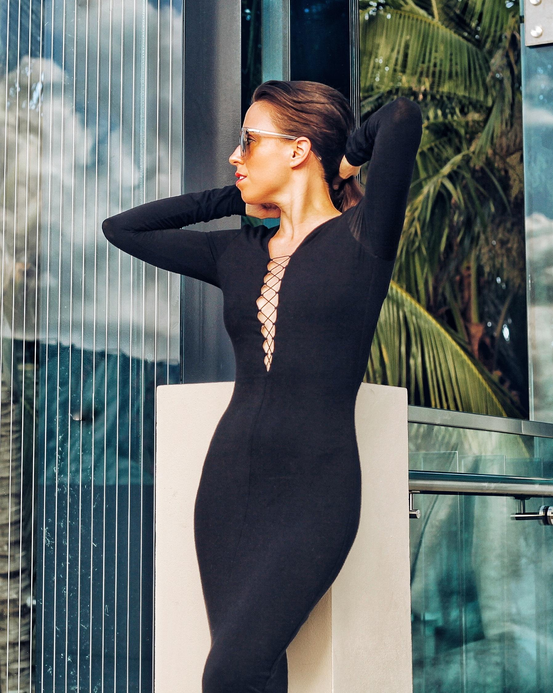 black alexander wang dress shopbop